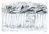 Wolfram Zimmer: Fate - Schicksal (ein_quadratmeter) Tags: wolframzimmer bilder kunst malerei gemälde wolfram zimmer konzeptkunst objektkunst mein freiburg burg birkenhof kirchzarten ausstellung ausstellungen peinture exhibition exhibitions bleistift zeichnung pencil drawing müll müllplatz wegwerfen abfall dumpster throwing away waste disposal