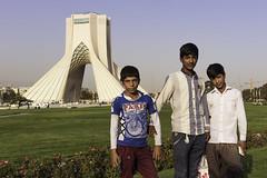 Iran - Tehran (davidsymonds) Tags: azaditower freedomtower iran tehran portrait