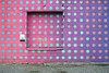 Seeing Spots (Todd Evans) Tags: olympus omd em10 m43 chattanooga tennessee tn urban wall purple pink