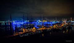 Hamburg - Landungsbrücken (Pana53) Tags: photographedbypana53 pana53 hamburg nachtaufnahme landungsbrücken lichter stimmung maritim nacht hansestadt hauptstadt freieundhansestadthamburg bundesland schiffe nikon nikond810