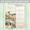 Layered Photoshop Template (daphnepopuliers) Tags: rackcard marketingcard photographycard photocard cardtemplate photshop psd photography photostudio photographer
