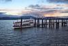 Lago Maggiore (beppeverge) Tags: rosso lagomaggiore tramonto beppeverge sunset lake lago barca boat pontile