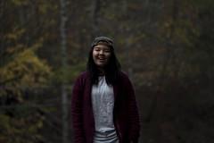 Kasia (feelinviewtiful) Tags: 828 sylva nc mountains leaves angela kasia autum fall hypebeast portrait smirk smile