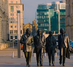 The #Beatles Albert Dock #Liverpool (Leshaines123) Tags: colour beatles liverpool albert dock composition statue street art john lennon river mersey canon eos exposure lines rule thirds vivdandstriking dazzlingshot