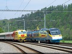 Reklamní lokomotiva ČD - Poštovka 151.014 (lhb727) Tags: reklamnílokomotiva čd 151 151014 hoštejn