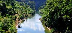 A River Runs Through It (mala singh) Tags: river water forest mountains mizoram india
