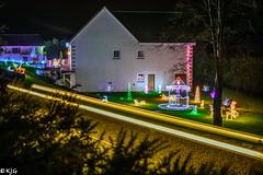 Bogallan Lights (scottishkennyg) Tags: christmas lights santa decorations blackisle bogallan scotland