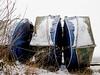 Boote Roggenburger Weiher 2 (noa1146) Tags: boote saisonende winter schnee weiher kälte tz101 panasonic