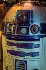 Star Wars Identities Nov 2016 - 3794.jpg (DavidRBadger) Tags: r2d2 movies exhibition artoodeetoo starwarsidentities props sf droid artoo o2 starwars costumes film scifi