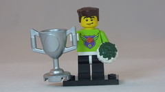 Male Cheerleader Brick Yourself Custom Lego Figure