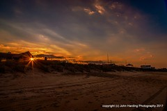 Oceanside Sunset (T i s d a l e) Tags: tisdale oceansidesunset sunset beach coast outerbanks southernshores winter january 2017 easternnorthcarolina