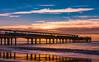 Boscombe Pier reflection (Anthony White) Tags: bournemouth england unitedkingdom gb sand pier sunrise waves dorset orange sunny nature natur naturaleza light clouds