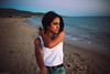 S a m a h (Nacho Borrella) Tags: beach summer tarifa vsco lightroom sigma lifestyle bokeh sunset dusk girl young