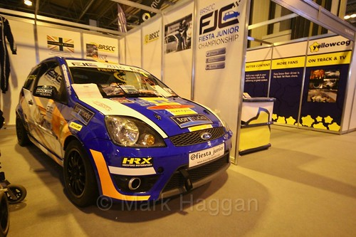 Fiesta Junior Championship at the Autosport International Show 2017