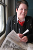 Anna 2010-02-17 (Michael Erhardsson) Tags: sj personal ab porträtt hallsberg ombordpersonal tågpersonal 2010