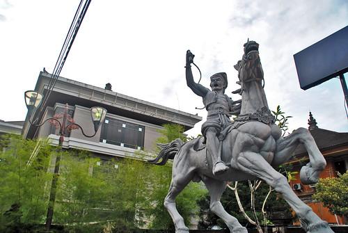 Patung Kuda Bank Dagang Bali