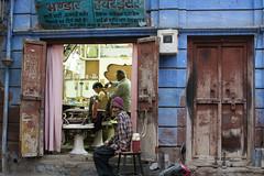 _DSC2836 (frangher) Tags: rajasthan jodhpur india travel viaggi color colori blu people persone strada street nikon d3100 afsdxnikkor35mmf18g