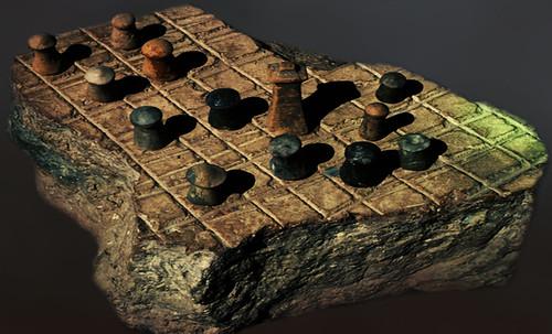 "Petteia - Ludus Latrunculorum  / Iconografía de las civilizaciones helenolatinas • <a style=""font-size:0.8em;"" href=""http://www.flickr.com/photos/30735181@N00/32522184955/"" target=""_blank"">View on Flickr</a>"