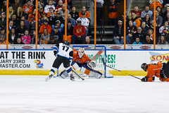"Missouri Mavericks vs. Wichita Thunder, February 3, 2017, Silverstein Eye Centers Arena, Independence, Missouri.  Photo: John Howe / Howe Creative Photography • <a style=""font-size:0.8em;"" href=""http://www.flickr.com/photos/134016632@N02/32561331432/"" target=""_blank"">View on Flickr</a>"