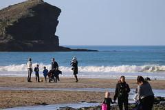 MRP_7353 (preedyphotos) Tags: cornwall kernow portreath beach coast northcornihcoast rocks tidesout walkingonbthebeach beachwalking outdoors exercise sand martinpreedy canon eos1dx