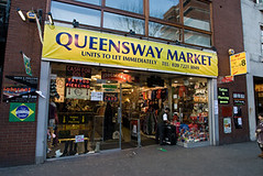 Queensway Mosque (Queensway, Westminster, London) (mosquedirectory) Tags: london mosque masjid queensway bayswater 2325 addressqueenswaymarket w24qj unitnumbera12