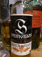 Springbank 10yo 57% 1977 (eitaneko photos) Tags: tokyo bottle single whisky february 1977 cl 57 springbank malt 2015 10yo