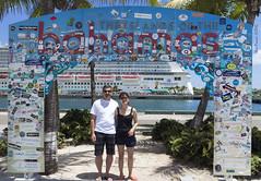 Proof we were there (SteveProsser) Tags: cruiseship bahamas nassau nassaubahamas norwegiancruiselines easterncaribbean canoneosm norwegiangetaway