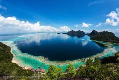 Bohey Dulang Island, Sabah (Lim Su Seng) Tags: fisheye malaysia sabah ef1635mmf28l canon15mmf28 canon5dmkiii 5dmk3 boheydulangisland