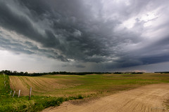 Wabamun Cell [Explored] (WherezJeff) Tags: ca canada storm weather cell alberta carvel 2015