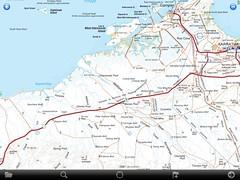 Dampier Karratha Miaree Pool North West Coastal Highway (spelio) Tags: travel australia email cartography wa mapping navigation act ipad 2015