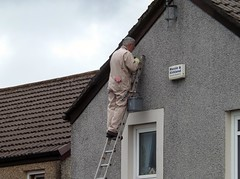 Man on Ladder. (Gooders2011) Tags: ladder