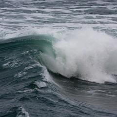 A Bit of Wavy Turbulence (ahockley) Tags: ocean nature water oregon waves pacificocean boilerbay