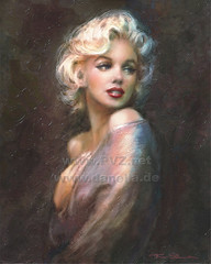 Marilyn WW.. (ARTbyAngieBraun) Tags: portrait copyright woman smile face painting sale marilynmonroe icon canvas blond hollywood posters prints theo diva masterpiece danella