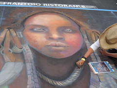 DSCN0650 (marathonwil) Tags: streetart art festivals sanrafael chalkart madonnari italianstreetpainting carnevaledivenezia amberlong italianstreetpaintingmarin everylifefoundationforrarediseases