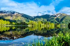 Haukelandsvatnet, Lone Camping (astielau) Tags: see himmel bergen