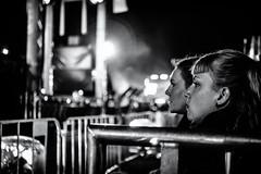 Anxious Women (Claus Tom) Tags: street urban blackandwhite bw woman silhouette female night copenhagen denmark evening women candid streetphotography nighttime warrior cph kbenhavn islandsbrygge