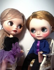 Blythe-a-Day July 19 #Just One & #22 Practice Makes Perfect: Alexandrina & Her Brother Alyosha