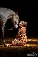 Complicit (graindepixel.fr) Tags: light horses horse cheval lumire equestrian equine chevaux naturel