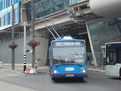 The Netherlands - Gelderland - Arnhem / Arnheim (railasia) Tags: holland arnhem trolleybus stationsquare gelderland 2015 breng trafficsituation routen7