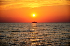 North Cape May Sunset (Daveyal_photostream) Tags: ocean sunset sea sun sunlight seascape motion beach nature beautiful beauty photoshop golden boat newjersey amazing movement nikon ship capemay sunsetting lightroom sunscape d600 nikor awesomeshots northcap mycamerabag northcapemay mygearandme meandmygear