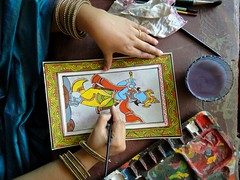 #108 Artist at work (Rajesh_India) Tags: painting artist sacredspace secunderabad rcss