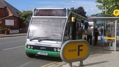 """GHA Coaches (Winsford) """"Cheshire Connect"""", Optare Solo,  YJ59 GHA (NorthernEnglandPublicTransportHub) Tags:"""