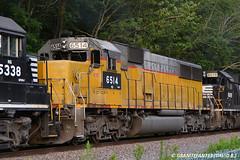 NS 6514 EMD SD60 (Trucks, Buses, & Trains by granitefan713) Tags: railroad train ns locomotive freighttrain norfolksouthern emd sd60 mixedfreight emdsd60 exunionpacific sunburysub cpsunburysub mainfesttrain