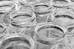 215 ~ 365 (BGDL) Tags: blackandwhite glass monochrome bottles ribbon 365 twine weddingpreparations nikond7000 bgdl afsmicronikkor40mm128g lightroomcc blackandwhite~365