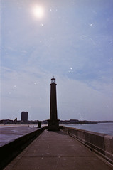 groyne and beacon (scarcely) Tags: england kent beacon margate