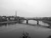 Découverte de l'Est (Antoine Desloges Studio) Tags: noel bâle suisse frontière rhin fleuve marche promenade commerces architecture bw eau water winter brouillard