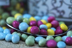 Macro Mondays : Redux 2016--My Favorite Theme of the Year (ereid88) Tags: macromonday redux2016myfavoritethemeoftheyear vibrantminimalism vibrant macro indoor tokina100mmf28 blue yellow green