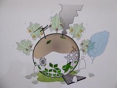 Ocala, FL, Appleton Museum of Art, Exhibit on Sustainable Living, Painting (Mary Warren (8.7+ Million Views)) Tags: ocalafl appletonmuseumofart art painting earth