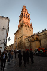 Main Entrance - Mezquita - Catedral of Cordoba (rschnaible) Tags: cordoba spain espana europe mezquita catedral bell tower historical history old sightseeing tour tourist building architecture