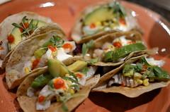 Grouper Tacos (mhaithaca) Tags: ithaca marriott hotel downtownithaca ithacamarriottdowntown food tacos fishtacos grouper